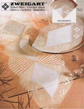 rhombus anh keldeckchen mit lochrand schirmers bastelshop. Black Bedroom Furniture Sets. Home Design Ideas
