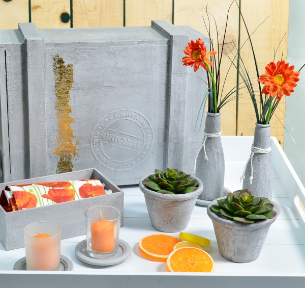 beton effekt paste schirmers bastelshop. Black Bedroom Furniture Sets. Home Design Ideas